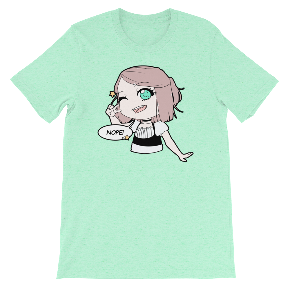 Nope! Sophie T-Shirt (In Mint, Pink, Black and White)